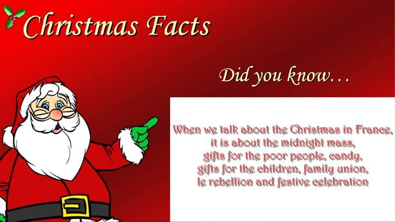 Interesting Facts About Christmas.Interesting Christmas Facts From Around The World Christmas