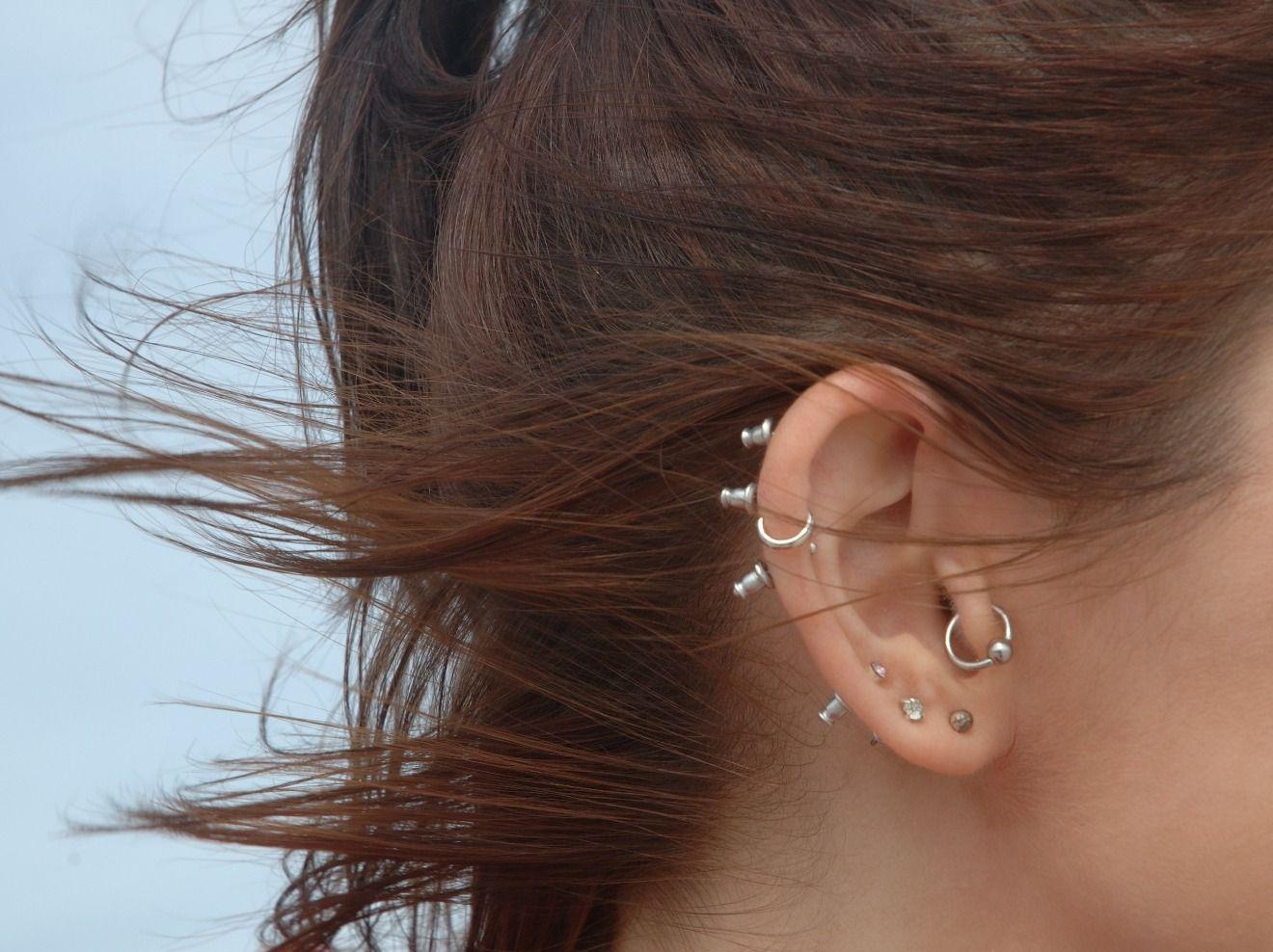 Entzündet ohr piercing Piercing rausnehmen
