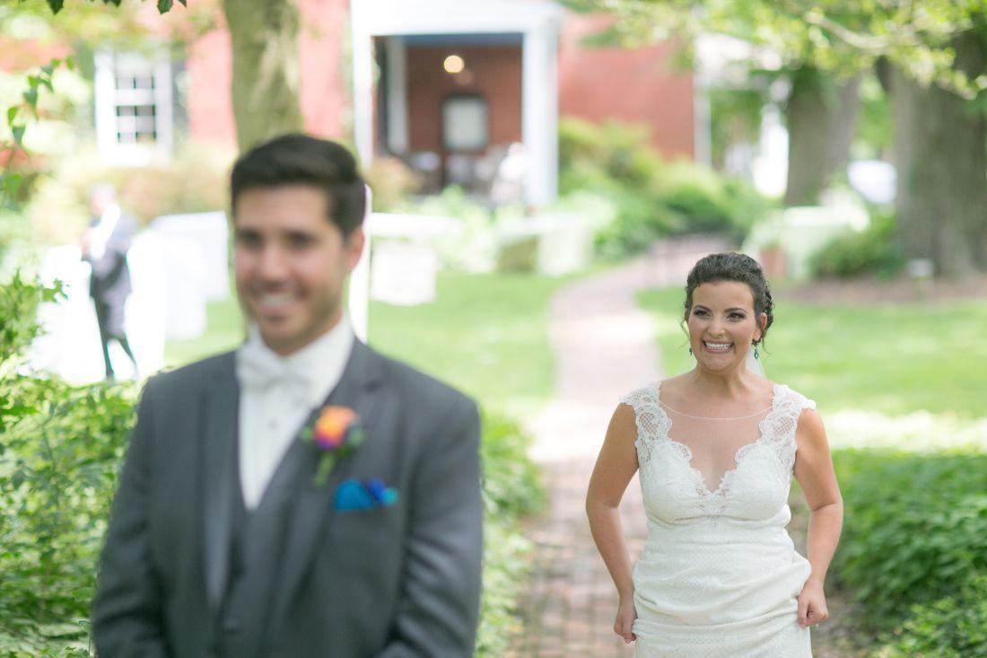 Artful Weddings, Sachs Photography, Baltimore Wedding Photography, first look, spring first look