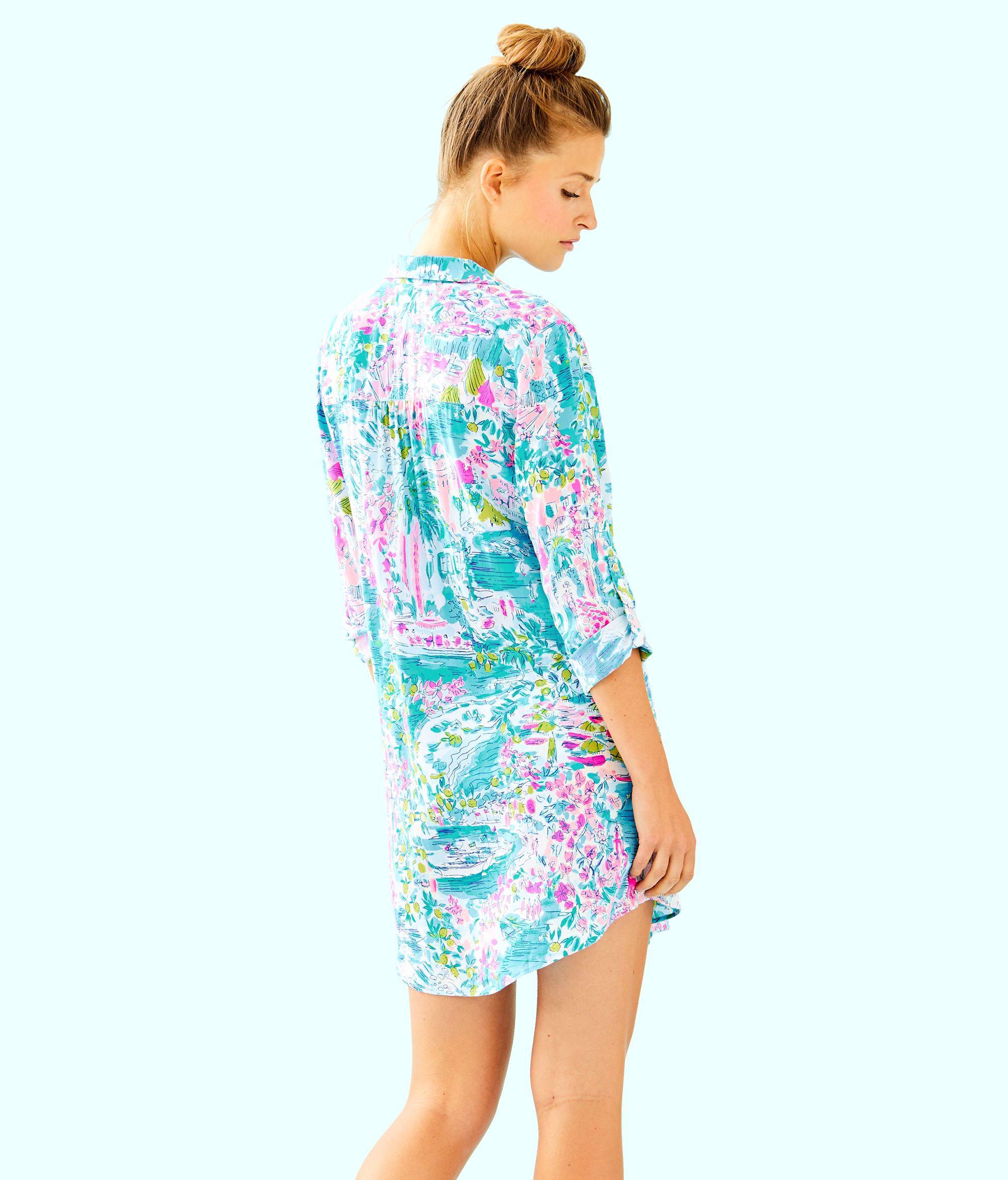 f23a26b273ca8 Natalie Shirtdress Cover Up