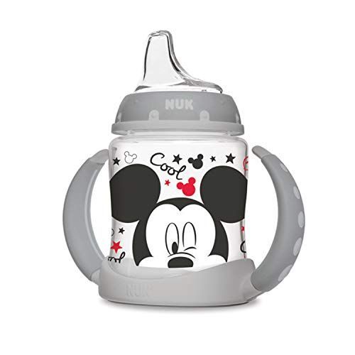NUK Disney Learner Sippy Cup, Mickey Mouse, 5oz 1pk #disneycups