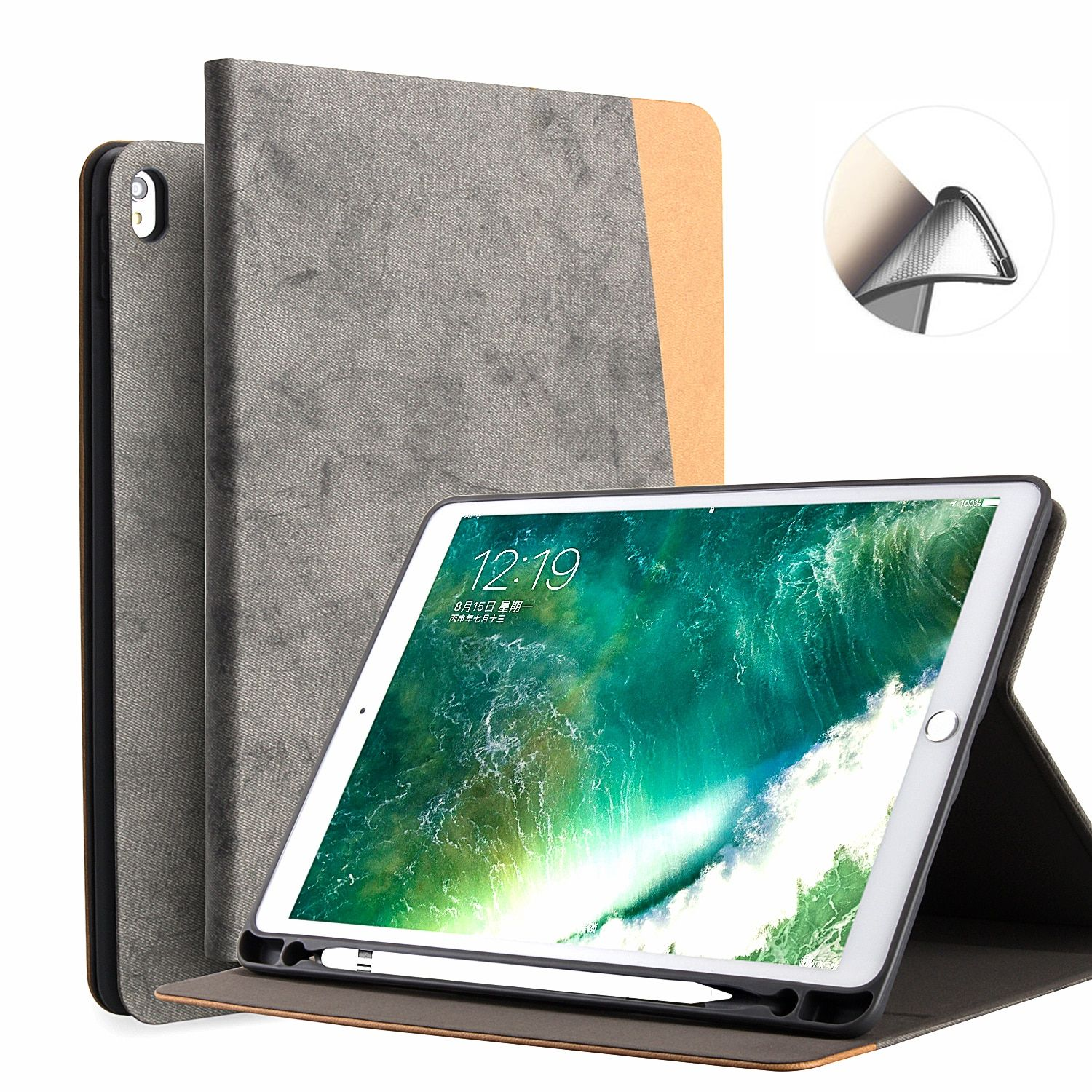 For Ipad Pro 10 5 Case Pu Leather Slim Smart Cover With Auto Sleep Wake For Apple Ipad Pro 10 5 Ipad Pro Apple Ipad Pro Apple Ipad