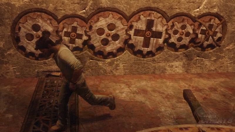 Uncharted 3 wall mural best free home design idea for Uncharted 3 mural puzzle