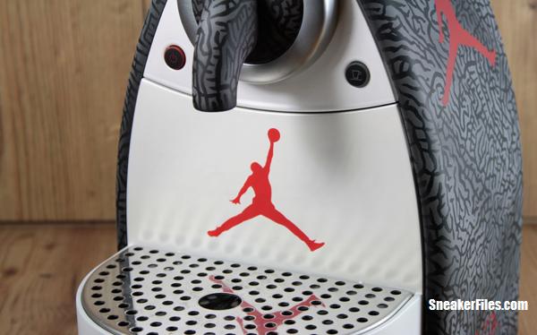 99668e09c325 Air Jordan III Inspired Nespresso Coffee Machine Custom What s the best  part of waking up
