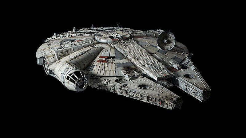 380 Millennium Falcon May As Well Be In The Movies Millennium Falcon Model Millenium Falcon Star Wars Design