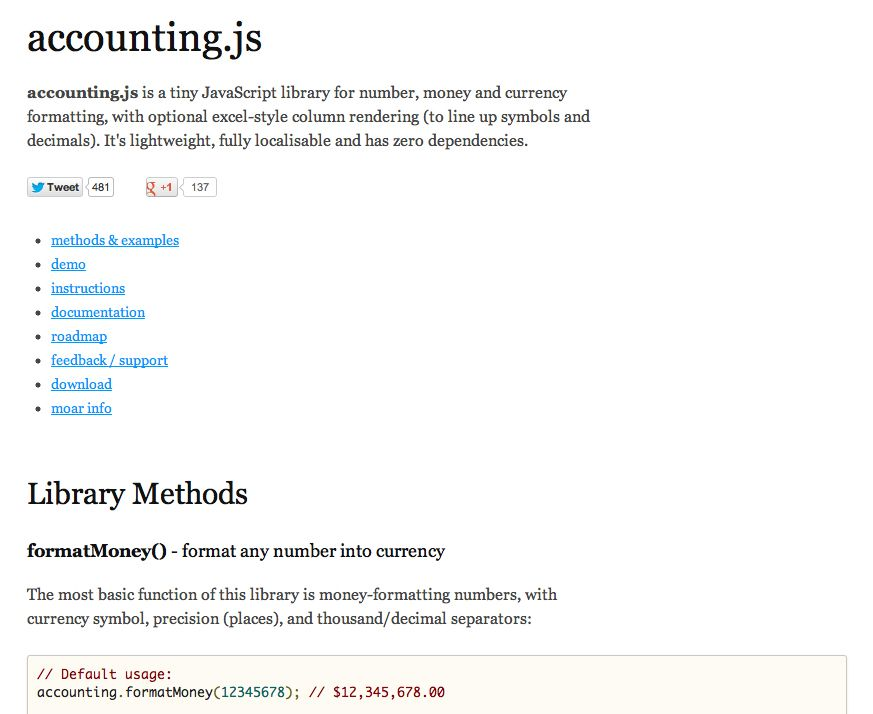 Httpjosscrowcroftthubaccountingjs Accountingjs Is A