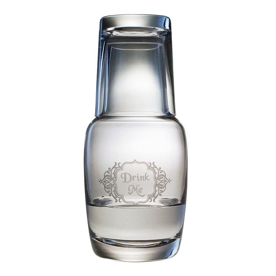 Drink Me Bottle Carafe Set In 2019 Carafe Water Carafe