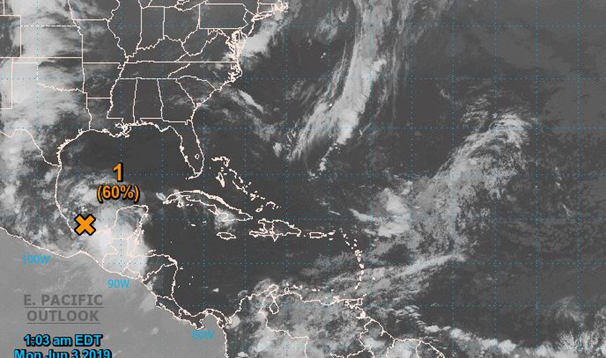 Tropical Disturbance In Gulf Could Become Cyclone By Tuesday Hurricane Center Says National Hurricane Center Tropical Cyclone