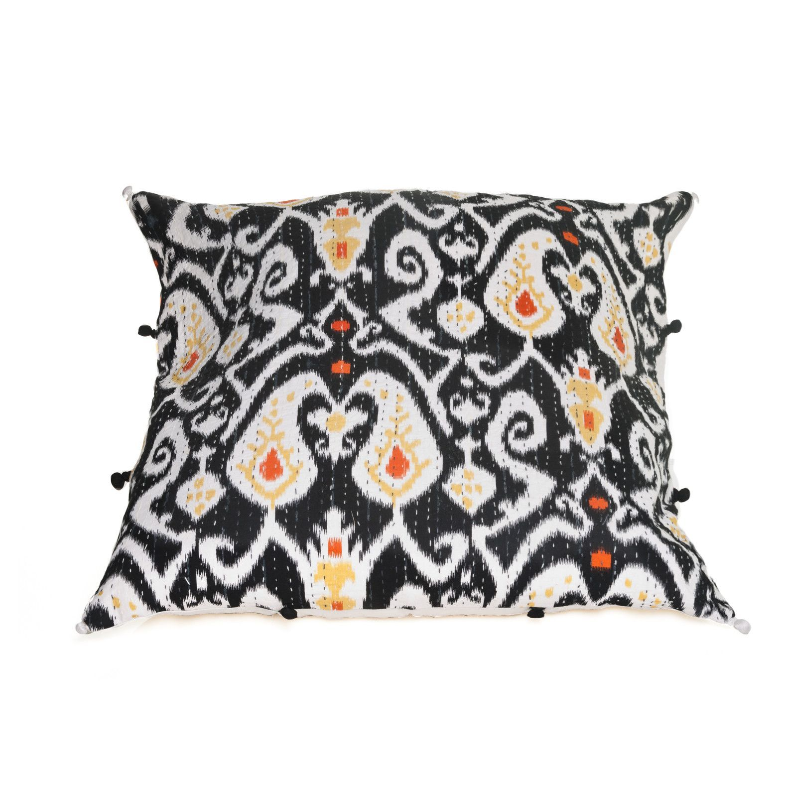 Multicolored ikat pillow cover pillows and products