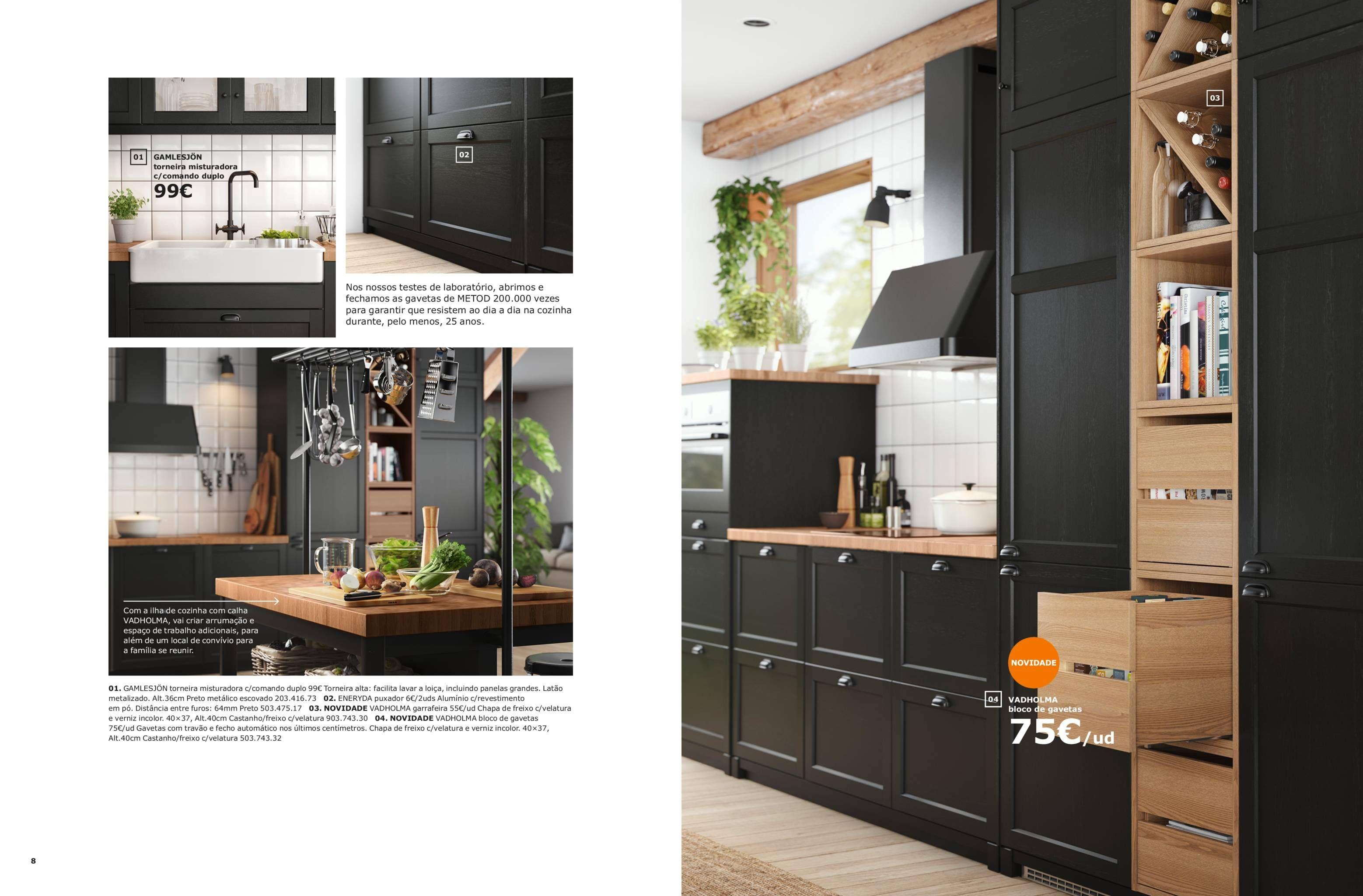 A Sua Maneira Brochura Cozinhas Ikea 2019 Bucătărie