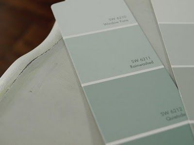 Love this color. Rainwashed by Sherwin Williams. Can't get that brand here though.: