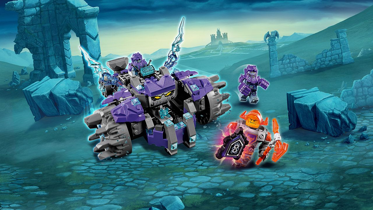 Nexo Knights Merlok Ausmalbilder : 70350 The Three Brothers Products Nexo Knights Lego Com Lego