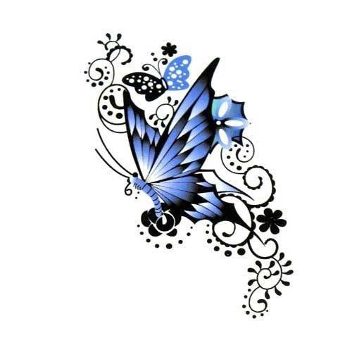 100 Beautiful Butterfly Tattoos For Women 24 Jpg 500 500 Butterfly Tattoo Designs Butterfly Tattoo Butterfly Tattoos For Women