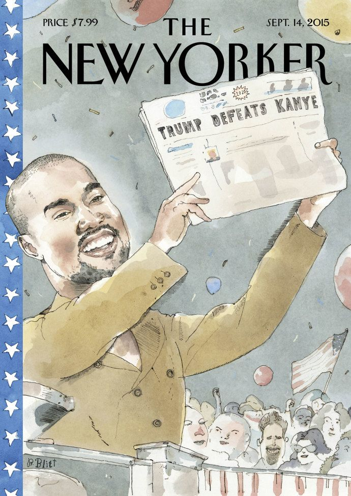 Cover Story Kanye S 2020 Vision New Yorker Covers The New Yorker Newspaper Cover