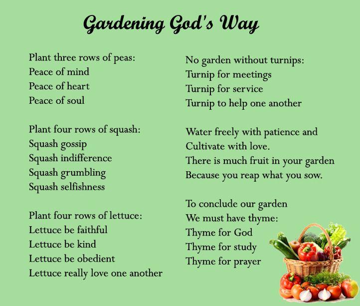 Gardening God\'s Way | Christian Inspiration-Encouragement-Music-Etc ...