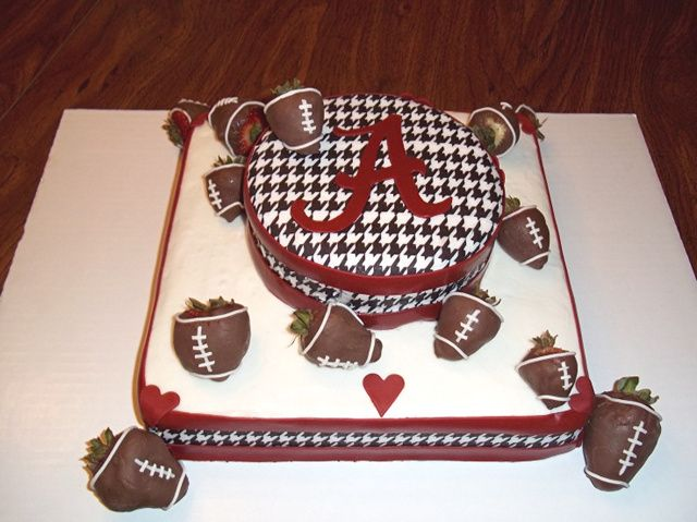 44 Alabama College Football Cakes Roll Tide DIY Crafty