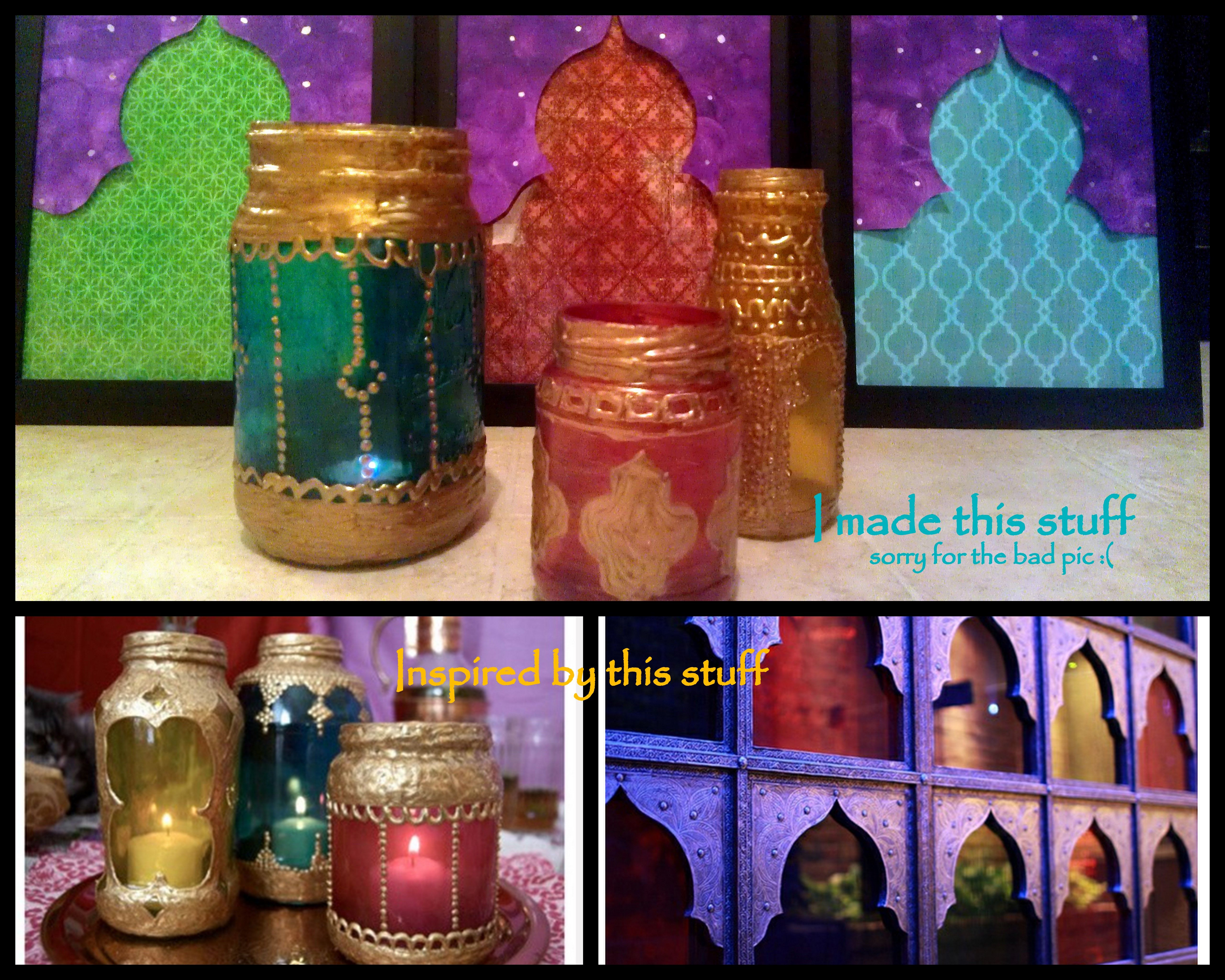touch of morocco DIY ...these are cute! (With images ...