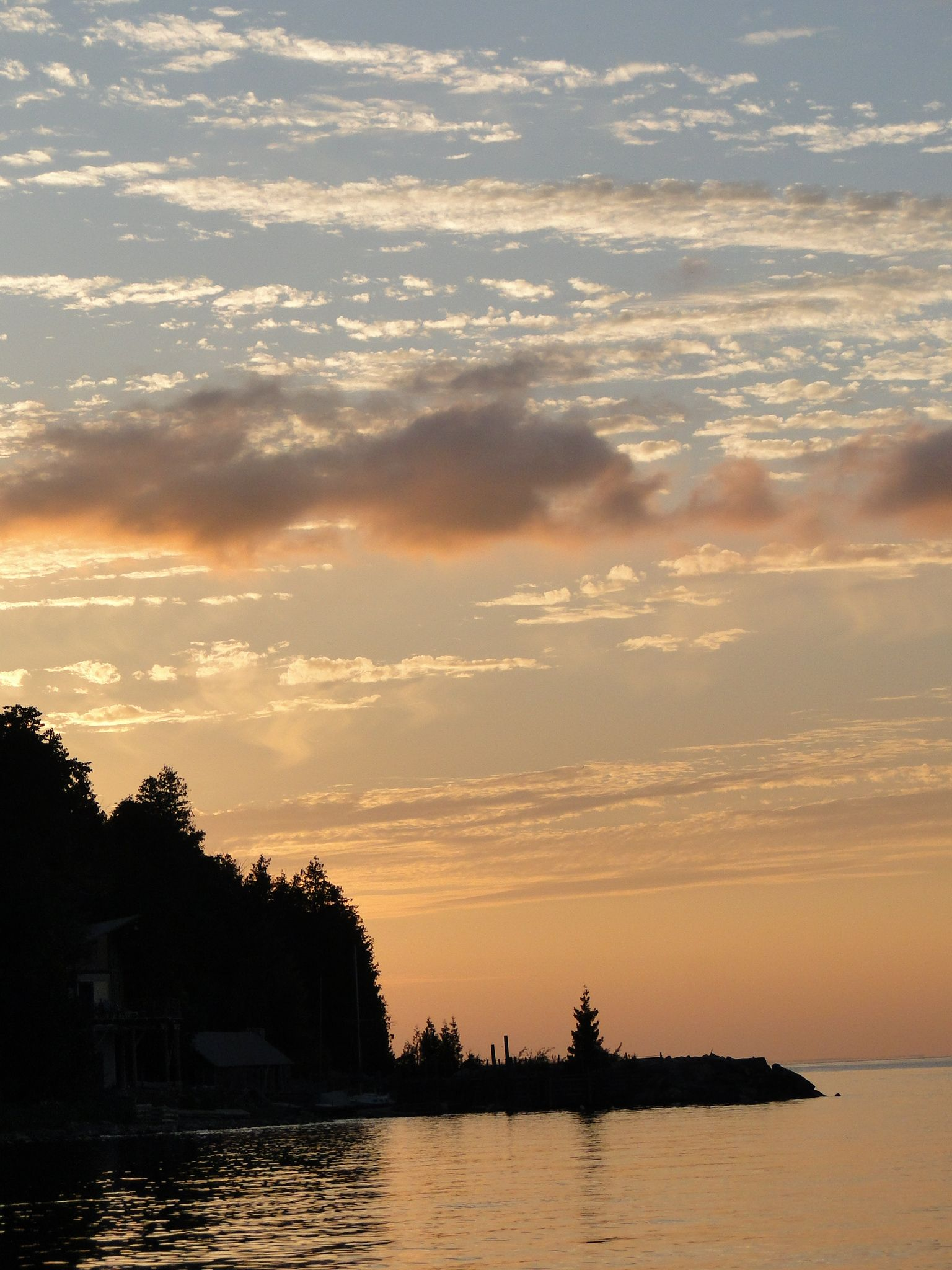 Sunset In Door County My View Through A Lens Pinterest