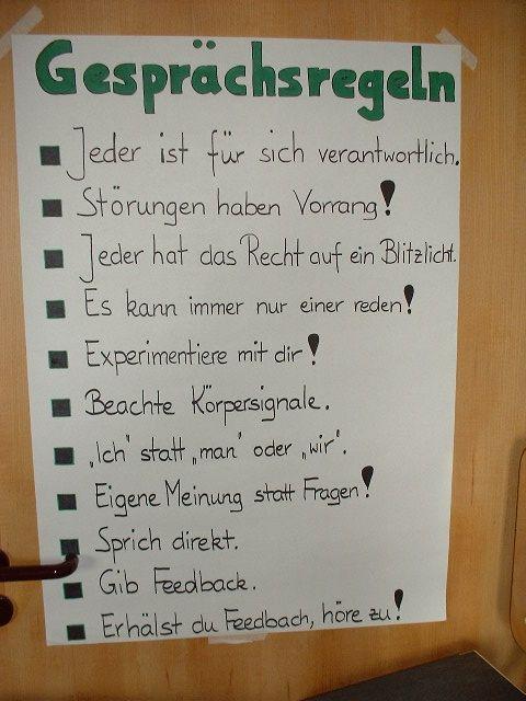 Bildergebnis Fur Seminar Welche Gesprachsregeln Lernen Macht Spass Lernen Soziale Kompetenz