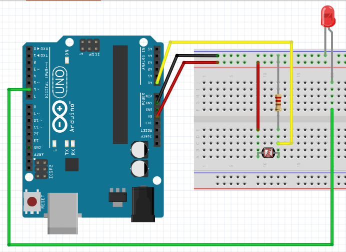 Automatic Led Control Using Ldr And Arduino Arduino Arduino Led Led
