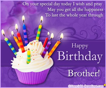 Brother Birthday cake Card Happy Birthday Sister Pinterest