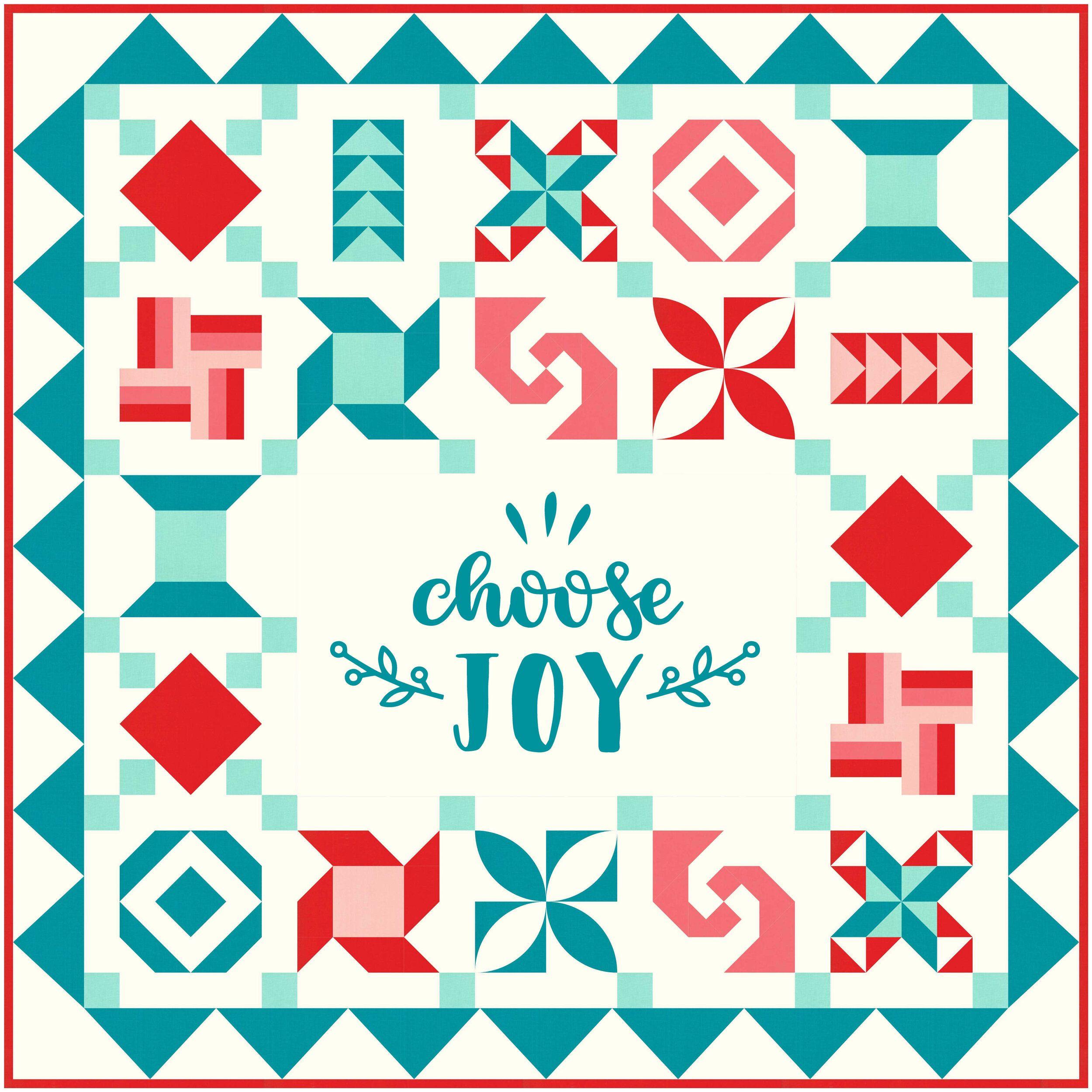 Join My Choose Joy BOM Quilt Club!