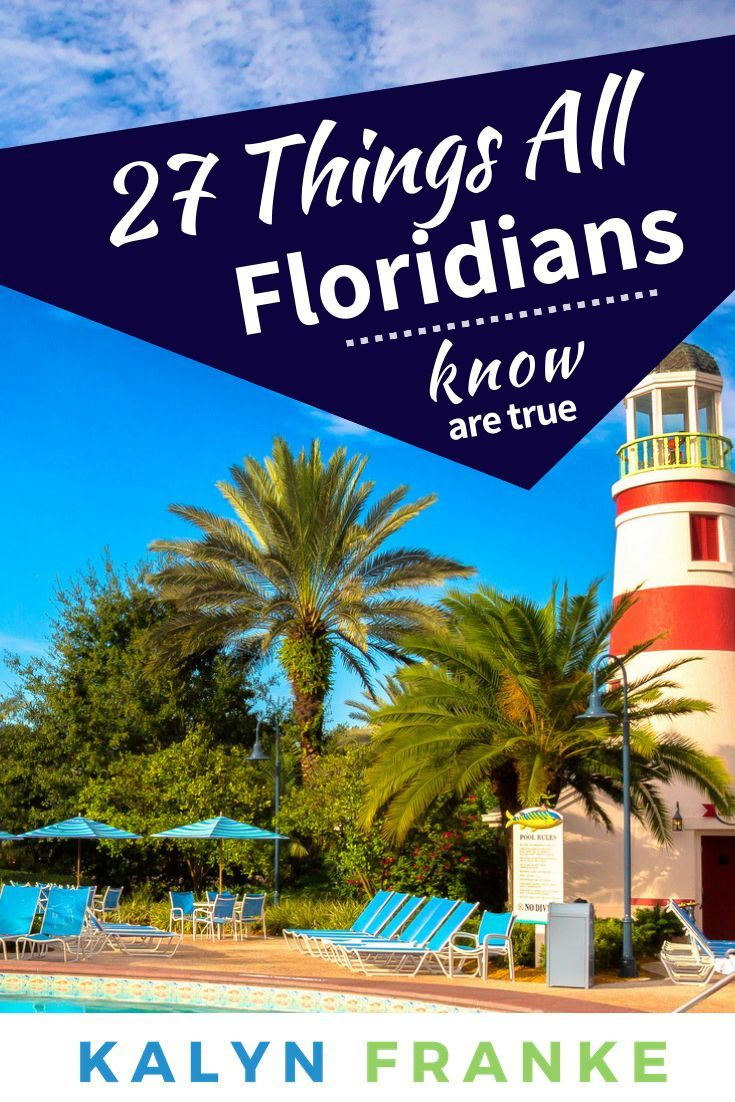 "33 Surefire Signs You Grew Up in Florida is part of Surefire Signs You Grew Up In Florida Girl Gone London - Spread the loveHello, all of my fellow mystical Florida babies! No matter where you are in the world now, there's something to be said for growing up in a place full of oranges and giant mouses, lots of lightning and beautiful winters  Hundreds of thousands of people look to move to Florida as their ""retirement"" …"