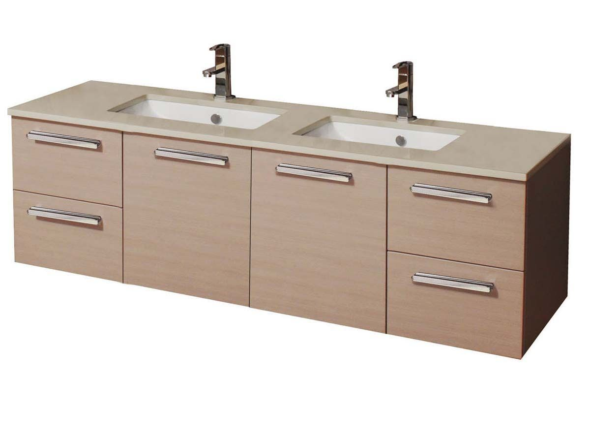 1500 Bathroom Vanity Reece Adp Essence Mkii 1500 Wall Hung Double Vanity