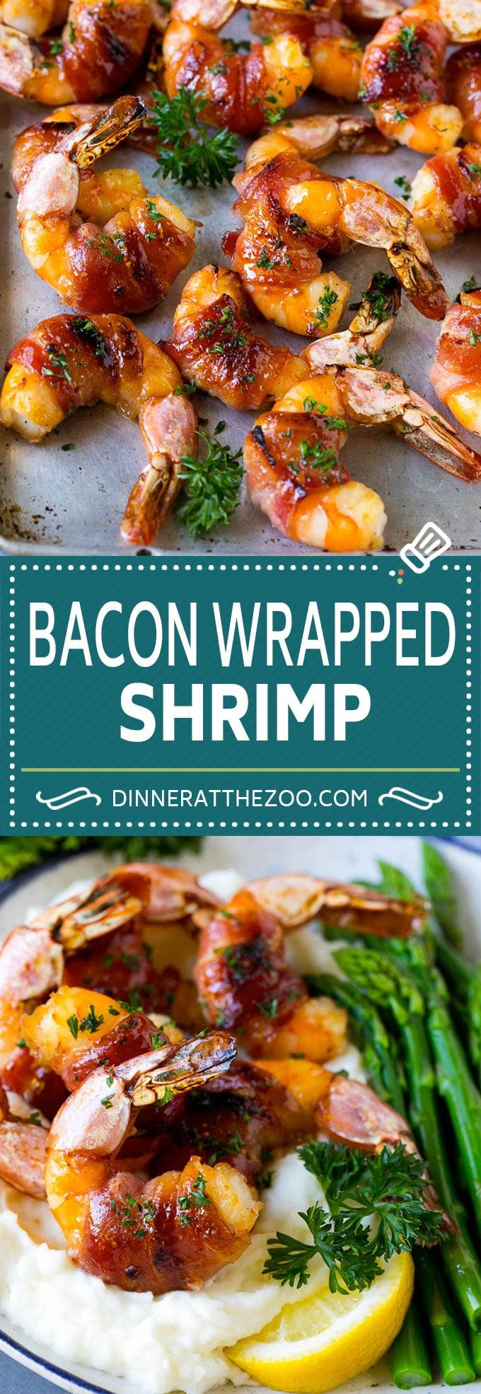 Photo of Bacon Wrapped Shrimp