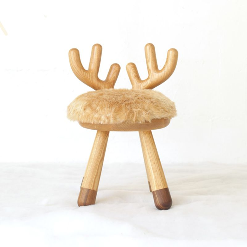 Merveilleux White Ash Wood Children Chair