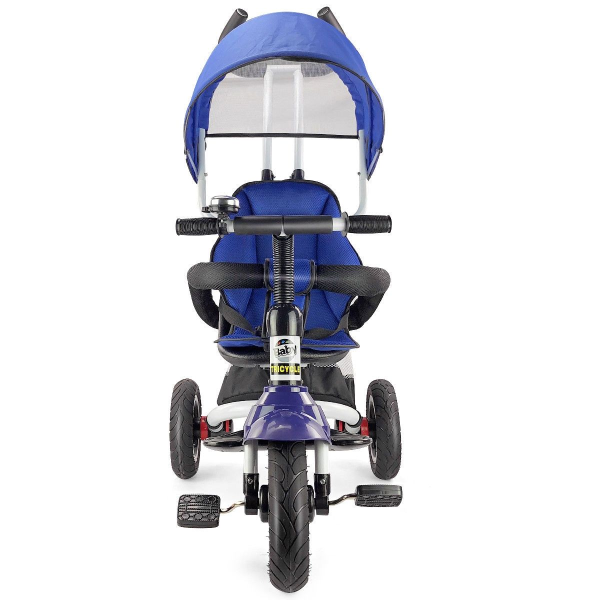 6In1 Kids Baby Stroller Tricycle Detachable Learning Toy