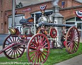 Antique Steam fire pumper from Chambersburg Pa photograph for sale on Etsy by jgoodrichphotography.com