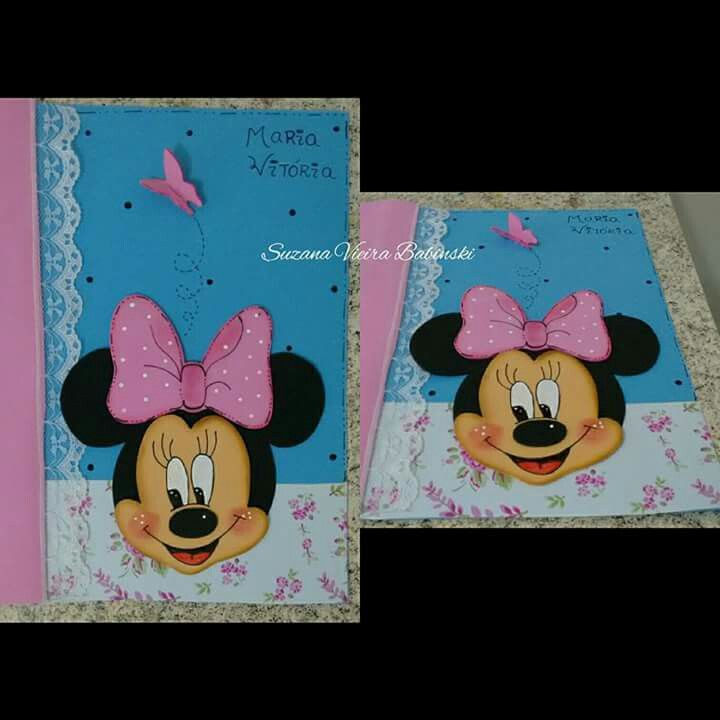 Capa decorada Minnie
