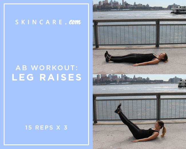 Ready for an abs workout? Part IV of our BSKYFITNESS workout series focuses on your core. This abs workout helps to strengthen and tone the look of your tummy with just three moves! | Powdered by L'Oréal