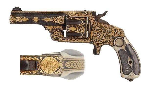 Osmanlı çelik tabancaLazistanlı İsmail Efendi Usta An Ottoman steel pistol 1 Osmanlı çelik tabancaLazistanlı İsmail Efendi Usta An Ottoman steel pistol 1885