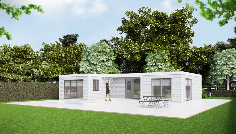 Kit Home Factory Manufactured Homes Order Your Low Cost Flat Pack Light Steel Frame Home Online Pre Engineered Modular Homes Kit Homes Self Build Houses