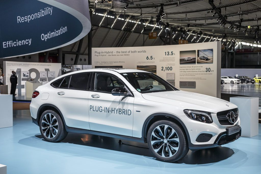 The New Glc 350 E Coupé 4matic Plug In Hybrid Will Enter Market Later This Year