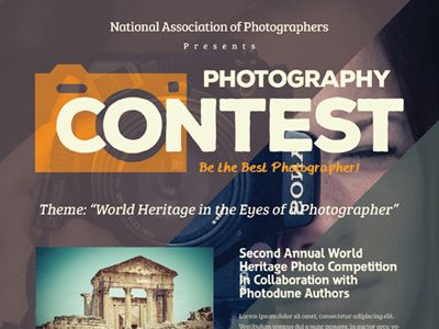 Perfect Image Result For Poster On Photography Competition Pertaining To Competition Flyer Template