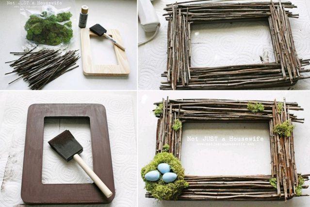 12 cr ations pour p ques bois pinterest deco paques. Black Bedroom Furniture Sets. Home Design Ideas