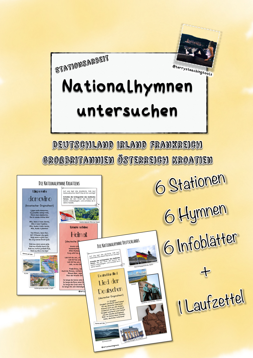 Nationalhymnen Anhören