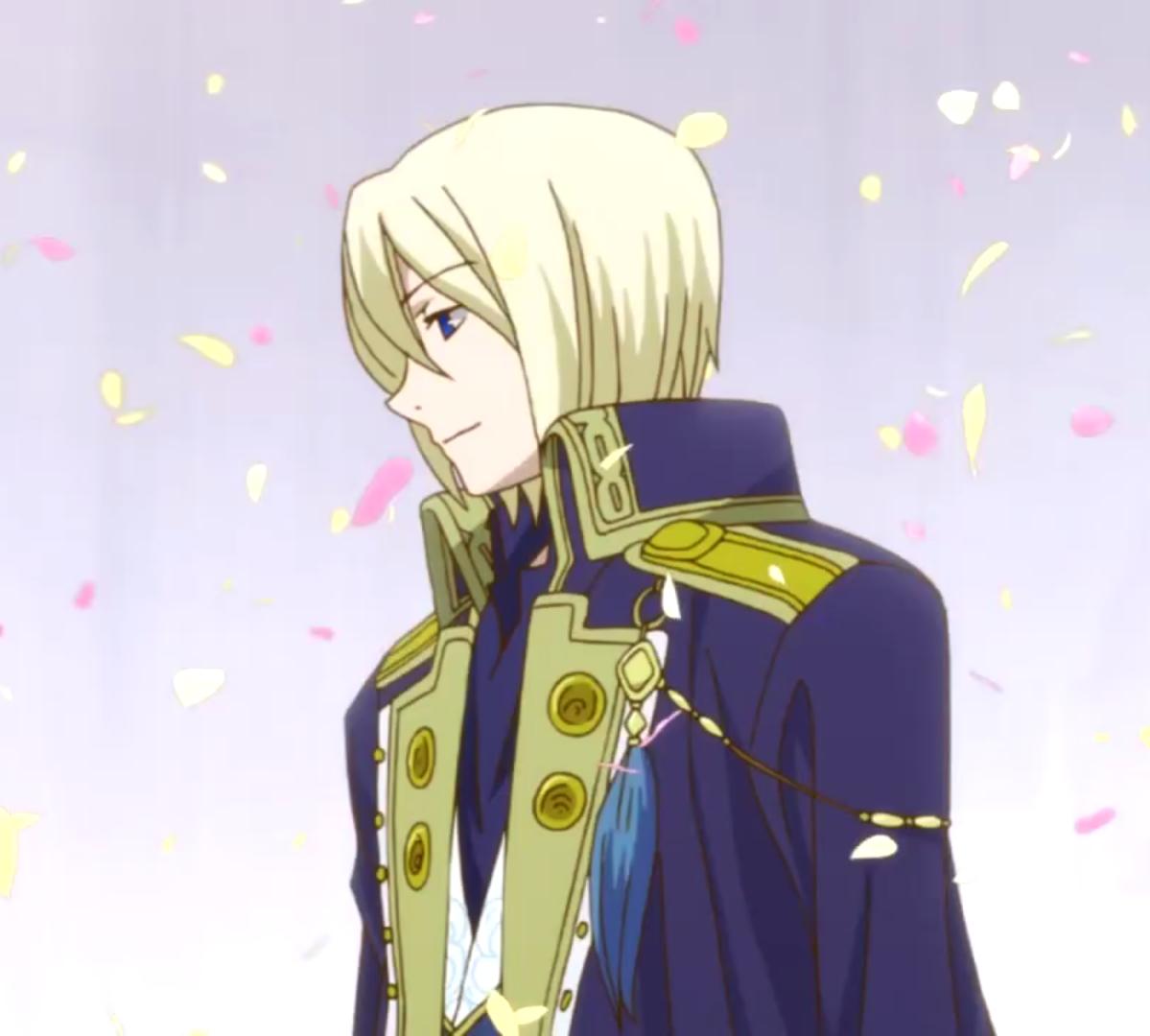 Prince Izana Zen S Brother Akagami No Shirayuki Hime Pinterest