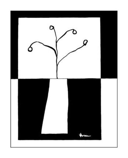 Minimalist+Flower+in+Vase+III