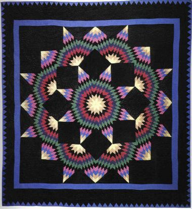 I love the dark colors in amish quilts