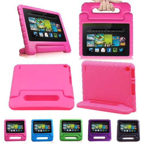 "For Amazon Kindle Fire 7"" 5th Gen 2015 Light Shockproof Cover Kids Case Hot Pink https://t.co/2MMZUVA4xc https://t.co/52YipiGygm"