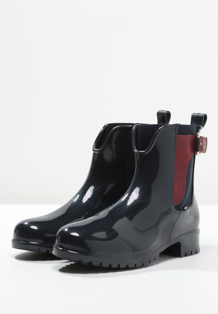 Tommy Hilfiger OXLEY - Wellies - midnight - Zalando.co.uk