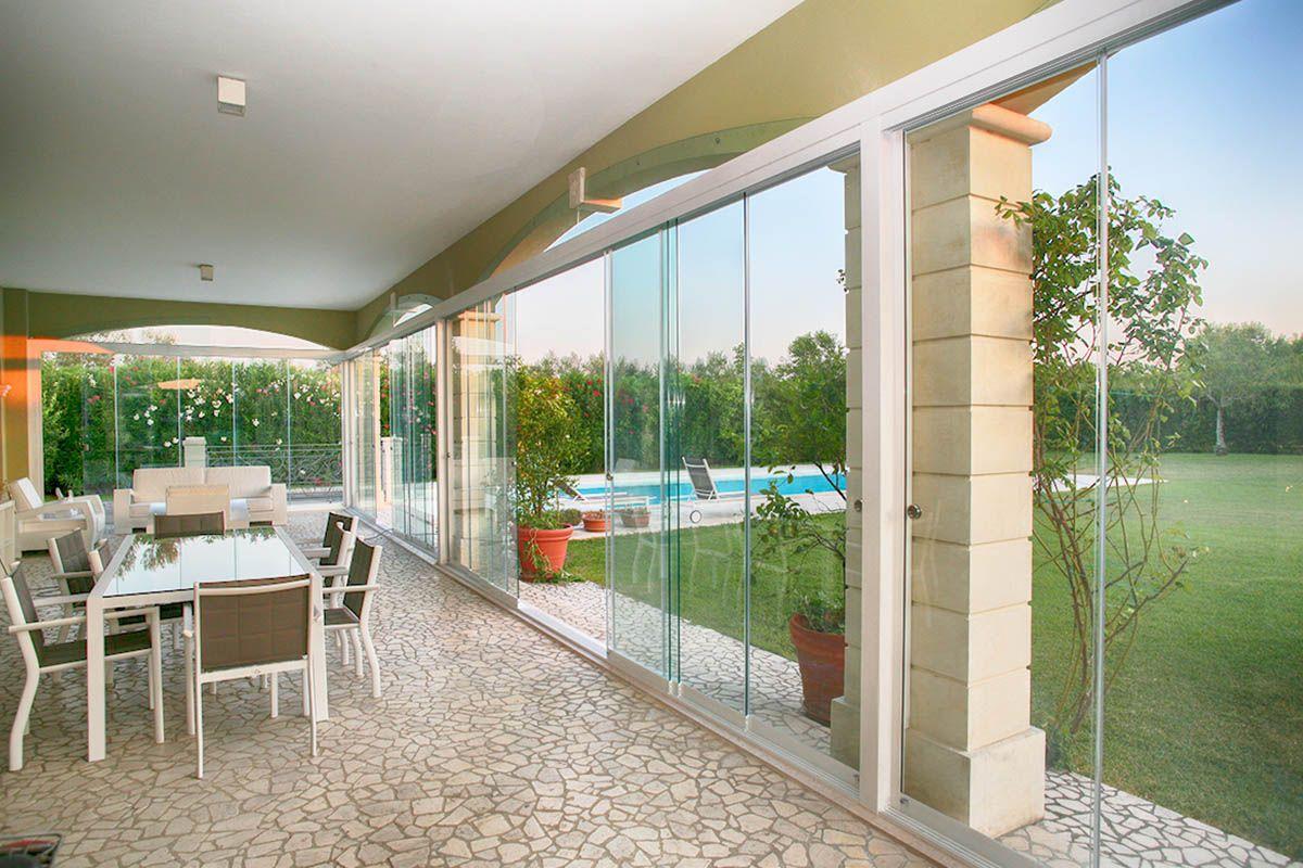Terrazze Chiuse Con Vetrate pin di loretta zancola su casa nel 2020 | veranda, verande