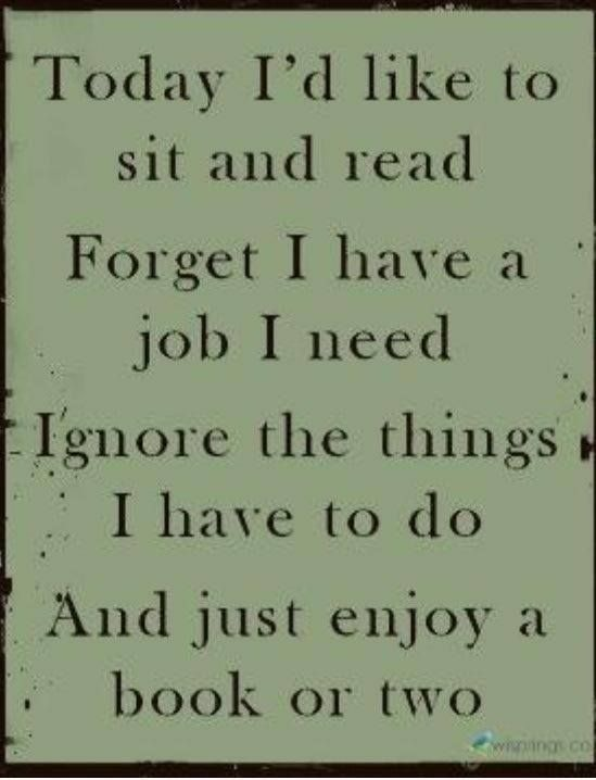 Book lovers always feel this way. I also pinned this to my Quiet Place board.