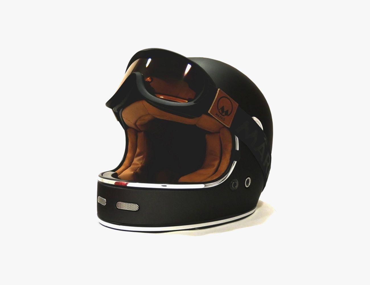 5 Stunning Vintage Style Motorcycle Helmets From Boutique Brands Gear Patrol Helmet Motorcycle Helmets Helmet Brands