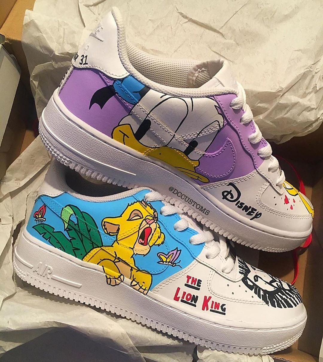 The post Disney Air Force 1s Bewerten Sie diese! Cop oder