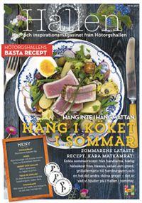 Hötorgshallens kundtidning Hallen har vunnit Sveriges bästa kundtidning år 2015 och 2016. Klicka på bilden för att läsa tidningen: